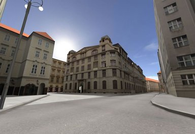 Prague city Hall 3D